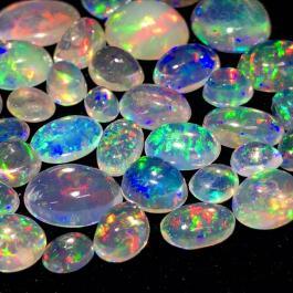 [天然ウォーターオパールおまとめ 50ct]ルース 裸石 宝石 ジュエリー jewelry water opal