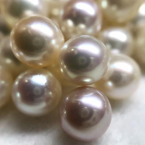7.5~8.0mm■パールおまとめ 2000ct■ ルース 裸石 宝石 ジュエリー jewelry Pearl アコヤ 真珠 丸玉
