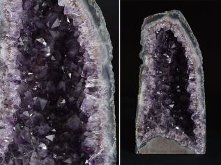 【雲】希少 紫水晶 アメジスト ドーム 原石 天然石 特大 重さ4.8kg 本物保証 古美術品 (旧家蔵出し) BC4363 ctob97e